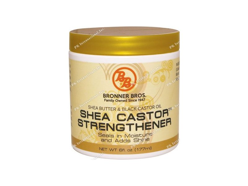 Bronner Bros Shea Castor Strength, 6 Ounce