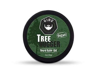 GIBS Tree Hugger Vegan Beard Balm-Aid for Men, 2.0 Ounces