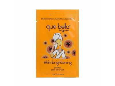 Que Bella Skin Brightening Papaya Peel Off Face Mask, 0.33oz