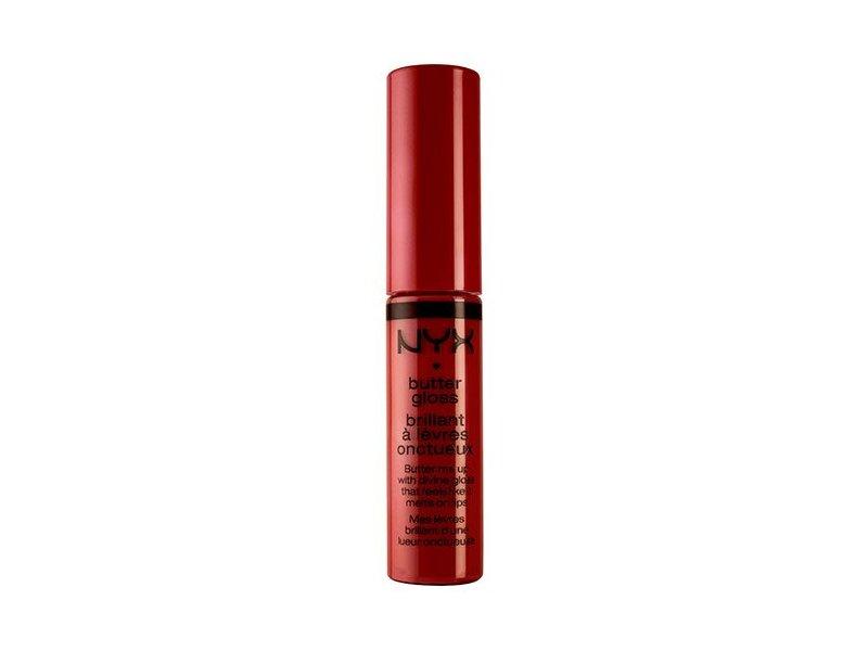 NYX Butter Lip Gloss, Red Velvet, 0.23 oz