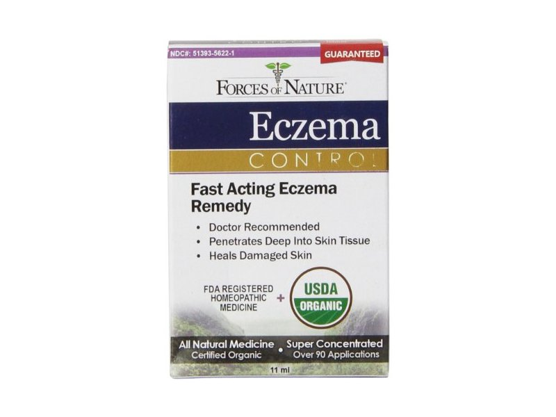Forces of Nature Eczema Control, 11 mL