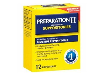 Preparation H Hemorrhoidal Suppositories, 12 count - Image 1