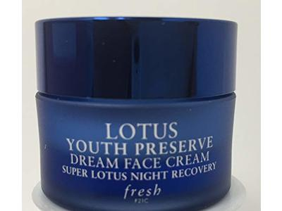 Fresh Lotus Youth Preserve Dream Night Cream, 0.23 oz