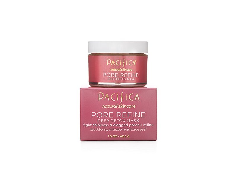 Pacifica Natural Skincare Pore Refine Deep Detox Mask, 1.5 oz