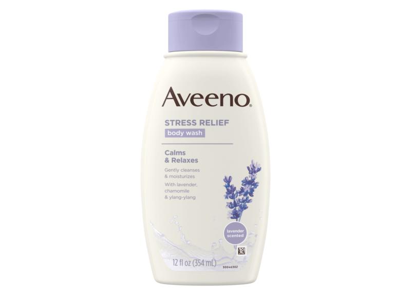 Aveeno Stress Relief Body Wash with Lavender, Chamomile & Ylang-Ylang