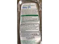 Equate Baby Aloe Vera & Vitamin E Baby Oil, 6.5 fl oz - Image 4