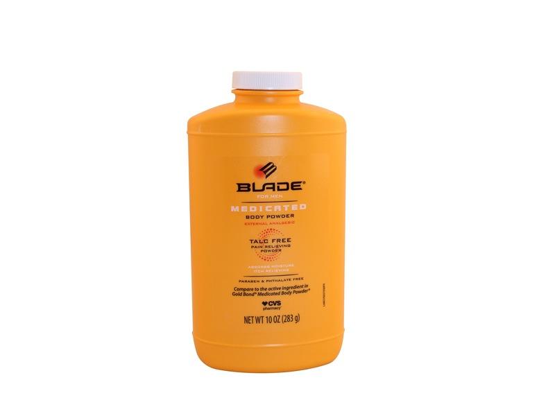CVS Pharmacy Blade for Men Medicated Body Powder