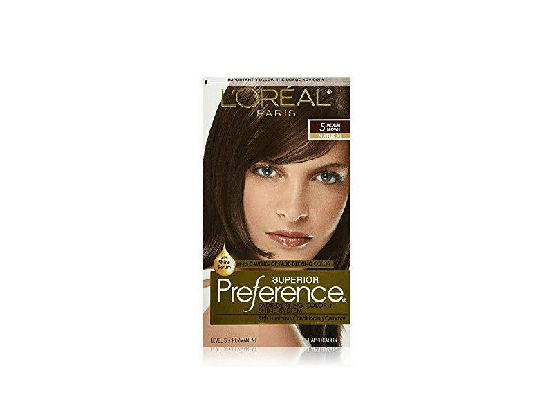 Loreal Superior Preference Hair Color 5 Medium Brown Ingredients