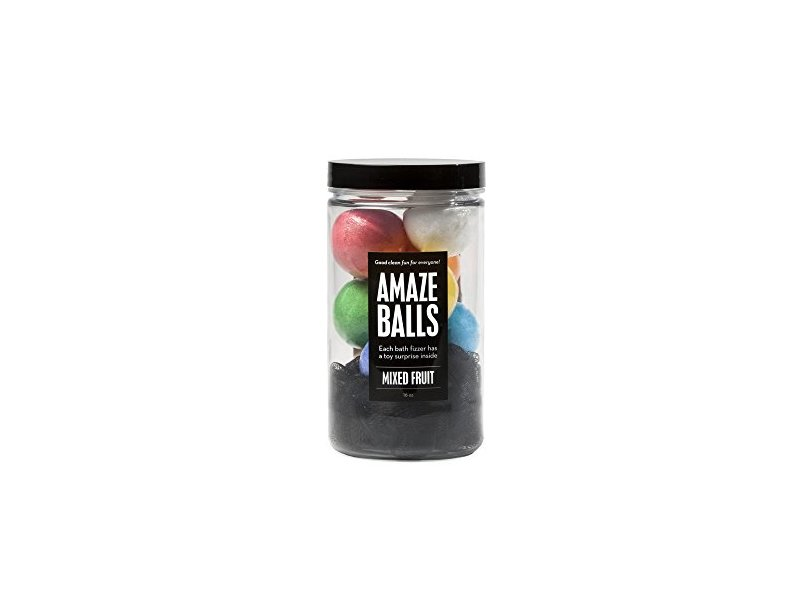 da Bomb Bath Fizzers Amaze Balls, Mixed Fruit, 8 ct