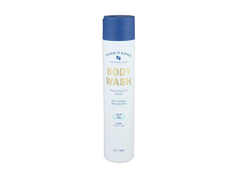 Hand In Hand, Body Wash, Fragrance-Free, 10 Ounce