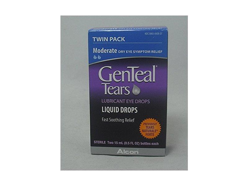 GenTeal Tears Liquid Drops, 0.5 fl oz per bottle