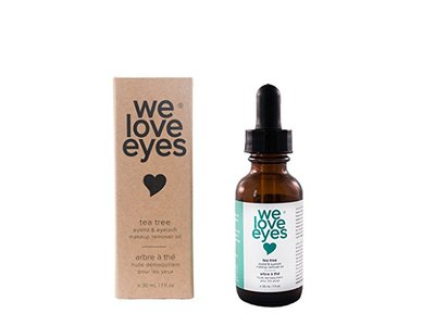 All Natural Tea Tree Eye Makeup Remover Oil - We Love Eyes 30ml