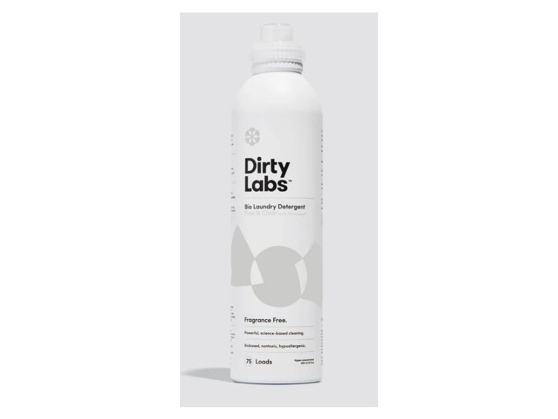 Dirty Labs Bio Laundry Detergent, Fragrance Free, 75 Loads, 20 fl oz/600 mL