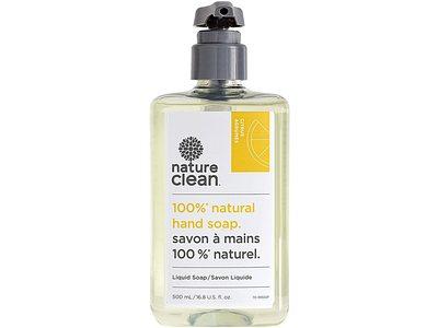 Nature Clean Natural Hand Soap, Citrus Agrumes, 16.8 fl oz/500 mL