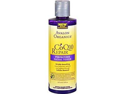Avalon Organics CoQ10 Repair Repairing Facial Toner, 8 fl oz - Image 1