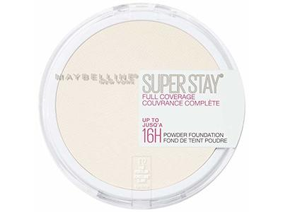 Maybelline New York Super Stay Full Coverage Powder Foundation Makeup Matte Finish, Fair Porcelain,