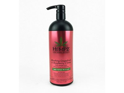 Hempz Daily Herbal Color Preserving Conditioner, Blushing Grapefruit & Raspberry Creme, 33.8 fl oz