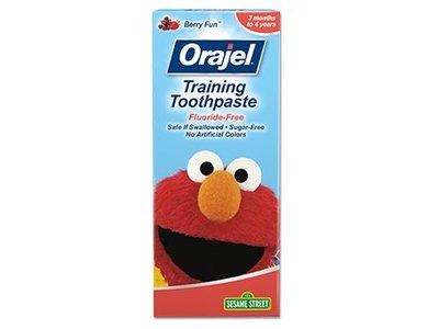 Orajel Elmo Fluoride-Free Training Toothpaste, 1.5 Ounce - Image 1