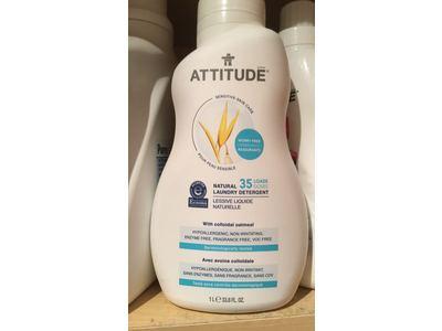 Attitude Natural Laundry Detergent, 33.8 fl oz - Image 3