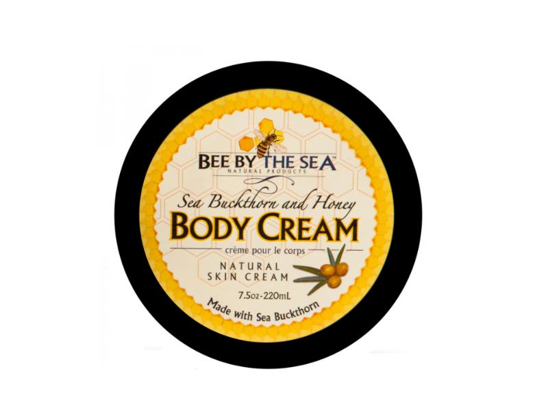 Bee By The Sea Body Cream, Sea Buckthorn And Honey, 7.5 oz