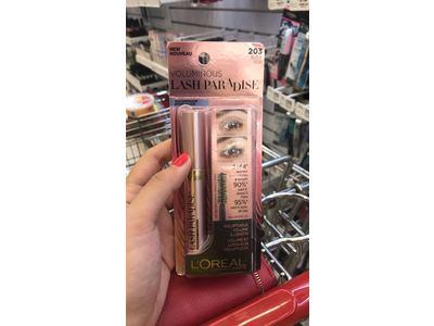 L'Oreal Paris Cosmetics Voluminous Lash Paradise Waterproof Mascara, Black, 0.25 Fluid Ounce - Image 3