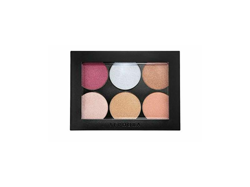Sephora Collection Metallic Pigment Palette, 0.72 oz/ 20.28 g