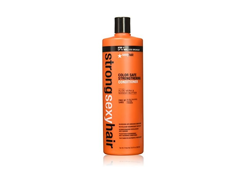Sexy Hair Strong Sulfate Free Conditioner, 33.8 Ounce