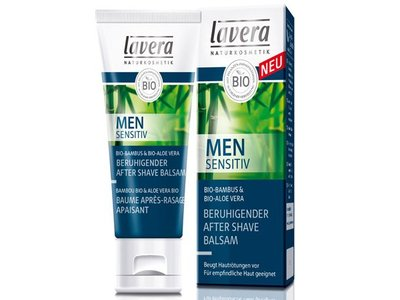 Lavera Natural Calming After Shave Balm, Men Sensitiv, 1.6 oz