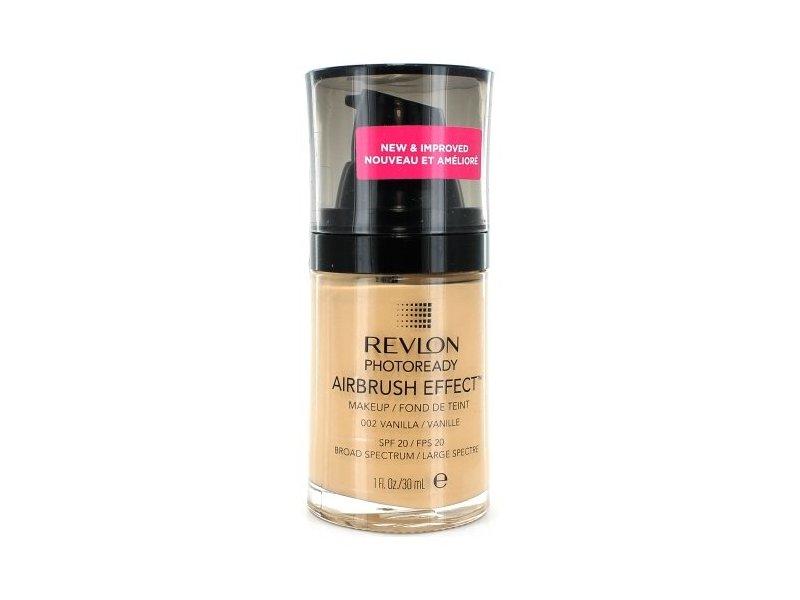 Revlon PhotoReady Airbrush Effect Makeup, Vanilla/002, 1 Fluid Ounce