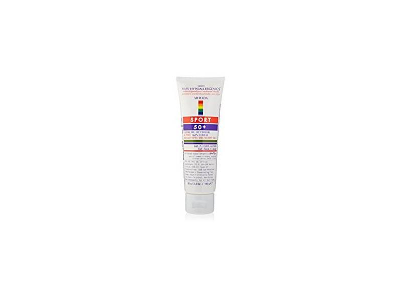 VMV Hypoallergenics Armada Sport 50+ Sunscreen, 3 fl oz