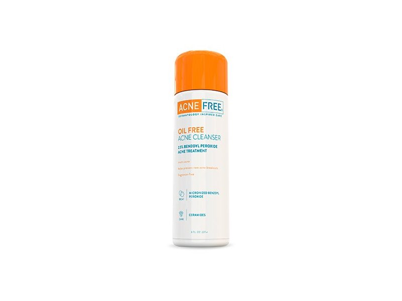 AcneFree Oil Free Acne Cleanser, 8 oz