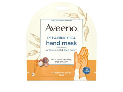Aveeno Repairing CICA Hand Mask with Oat and Shea Butter