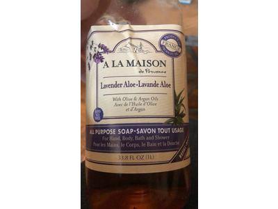 A La Maison All Purpose Soap, Lavender Aole, 33.8 fl oz (1L) - Image 3