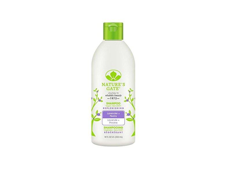 Nature's Gate Replenishing Shampoo, Lavender + Peony, 18 fl oz