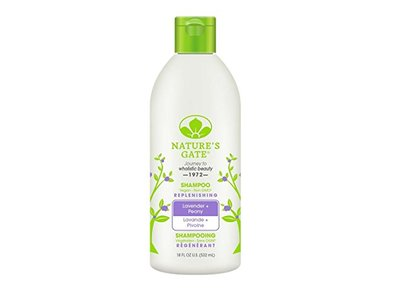 Nature's Gate Replenishing Shampoo, Lavender + Peony, 18 fl oz
