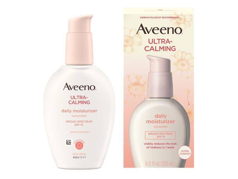 Aveeno Active Naturals Ultra Calming Daily Moisturizer, SPF 15