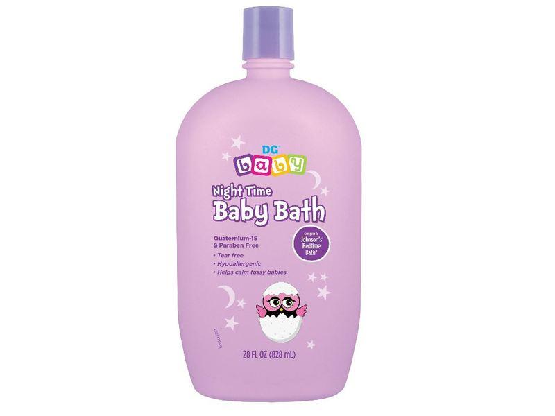 DG Baby Night Time Baby Bath, 15 fl oz