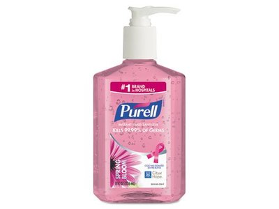 Purell Spring Bloom Instant Hand Sanitizer, 8oz - Image 1