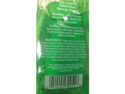 Australian Gold After-Sun Aloe Soothing Gel 8 oz - Image 4