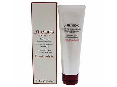 Shiseido Clarifying Cleansing Foam, 4.6 oz