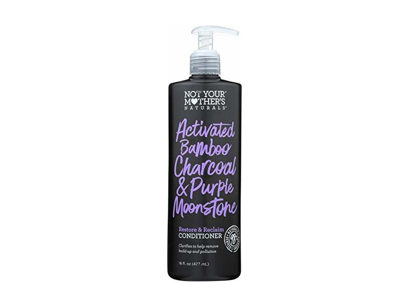 Not Your Mother's Conditioner, Activated Bamboo Charcoal & Purple Moonstone, 16 Fl Oz