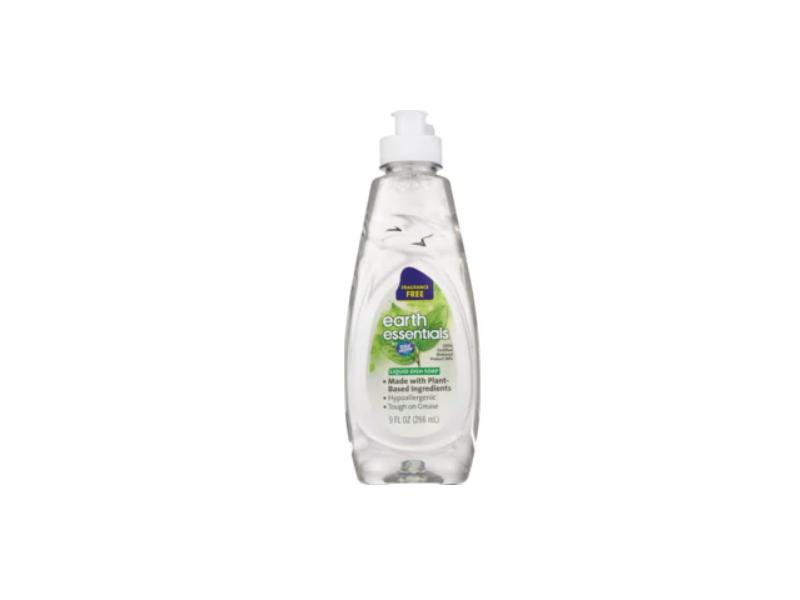 Total Home Earth Essentials Liquid Dish Soap, 9 fl oz