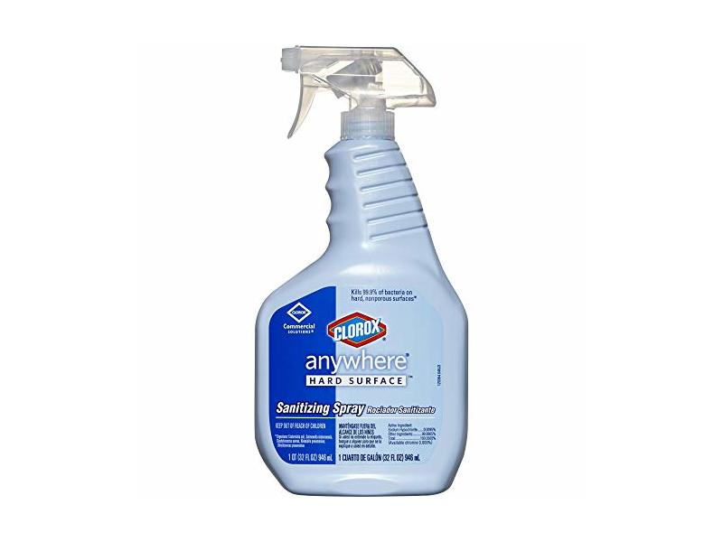 Clorox Anywhere Hard Surface Sanitizing Spray, 32 Ounces