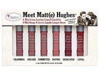 theBalm Meet Matt(e) Hughes Mini Long-Lasting Liquid Lipsticks, 0.04 fl. oz. (Set of 6) - Image 2