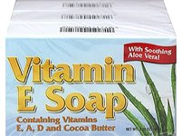 Natural Vitamin E Soap With Cocoa Butter, 3.25 Oz. - Image 2