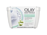 Olay Daily Sensitive Cleansing Cloths Tub with Aloe Extract Makeup Remover, 33 ct - Image 2