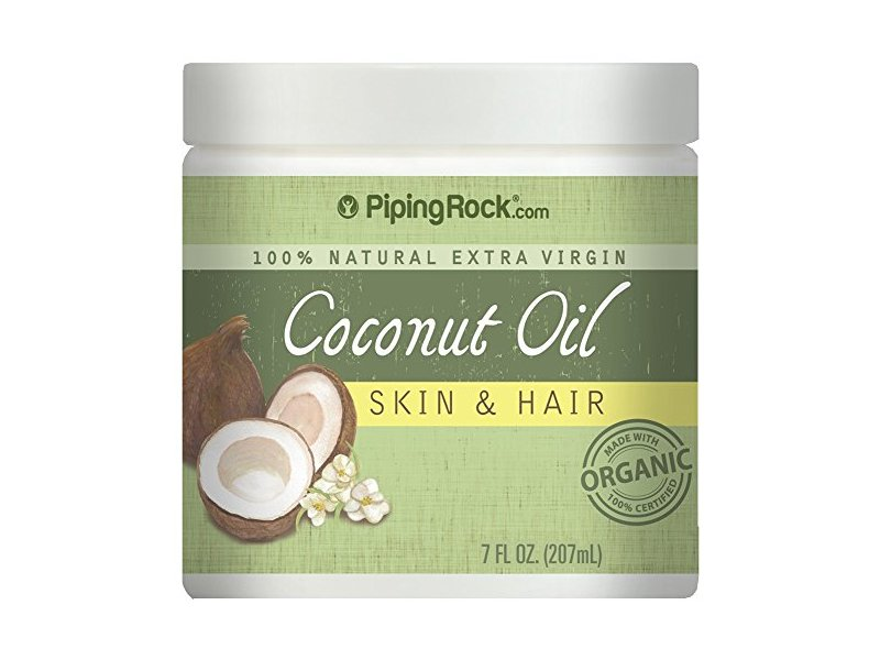 Coconut Oil 100% Natural for Skin & Hair, 7 OZ