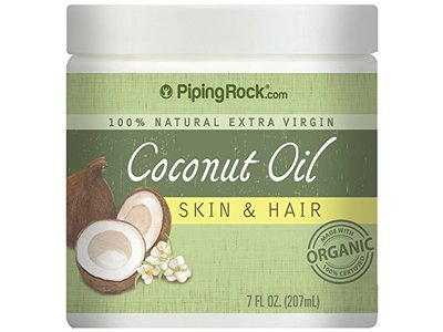 Coconut Oil 100% Natural for Skin & Hair, 7 OZ