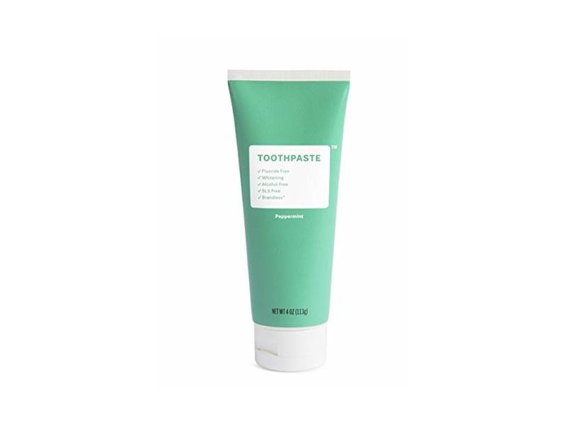 Brandless Fluoride-Free Peppermint Toothpaste, 4 oz