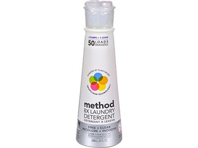 Method Laundry Detergent Clear, 20 fl oz